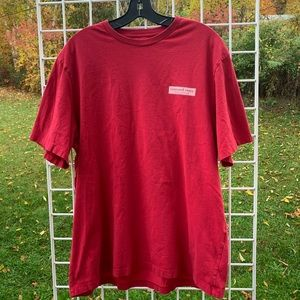 VINEYARD VINES L Red Box Logo Cotton T-Shirt